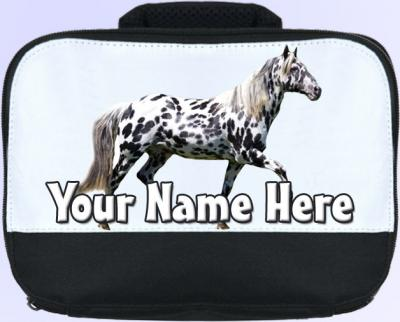 Personalized Appaloosa Horse / Pony Lunch Bag