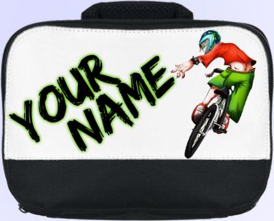 Personalized BMX Lunch Bag