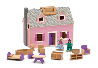 MD13701 Fold & Go Dolls House