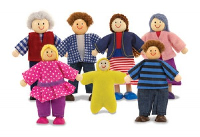 MD12464 Doll family