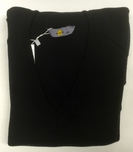Magic Fit Knitted Black Jumper