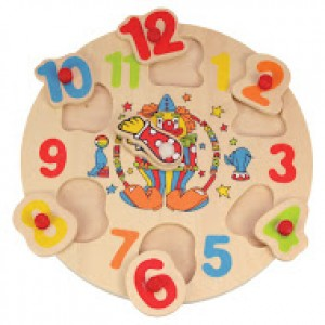 BJ751 Clown Clock