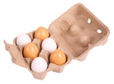 BJ711 Pack of Six Eggs