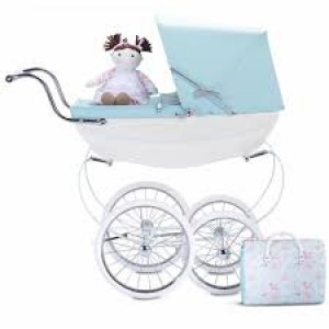 DLSX6063 Silver Cross - Sweet Pea Dolls Pram