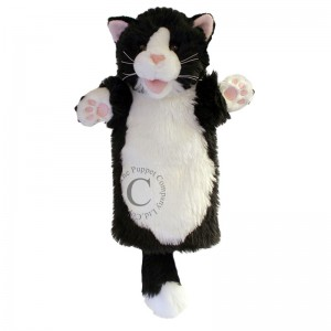 Glove Puppets - B&W Cat