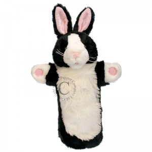 Glove Puppets - B&W Rabbit