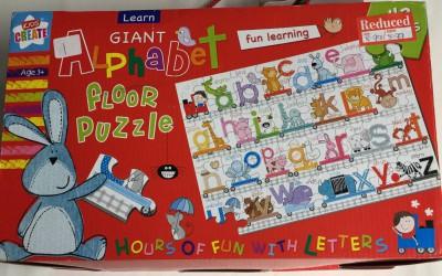 Giant Alphabet Floor Puzzle Educational Toys School Days Ltd