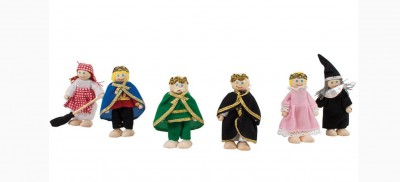 Fairytale dolls set
