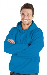 Deluxe Hoodie-Electric Blue