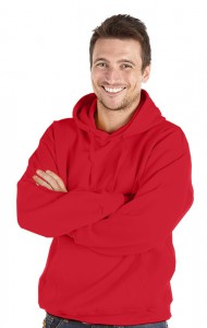 Deluxe Hoodie-Red