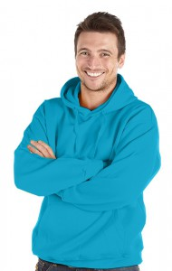 Deluxe Hoodie-Turquoise