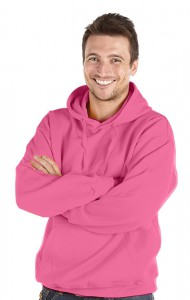 Deluxe Hoodie-Strawberry Pink