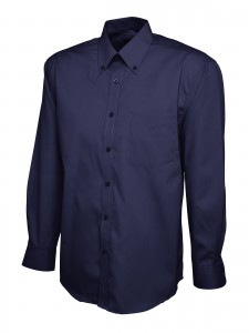 Mens Oxford Full Sleeve Shirt Navy