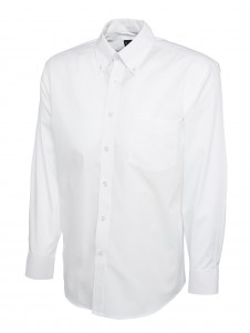 Mens Oxford Full Sleeve Shirt White