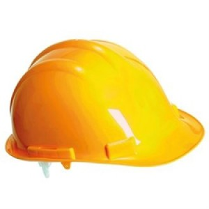 PW039HelmetYellow Endurance safety helmet