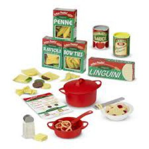 M&D Pasta play set