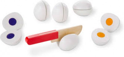 M&D slice&sort wooden eggs