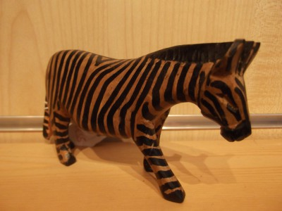 Zebra - wooden, large