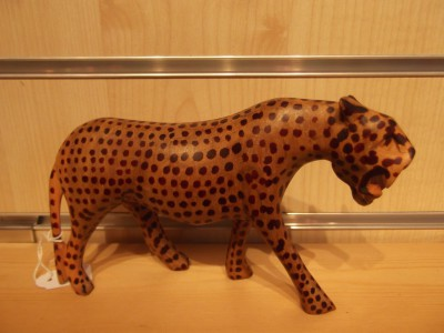 Cheetah - wooden, large