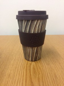 Eco coffee cup by Stone and Wood Baumrinde