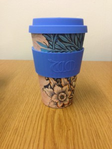 Eco coffee cup by William Morris Lily