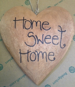 Heart 'Home Sweet Home'