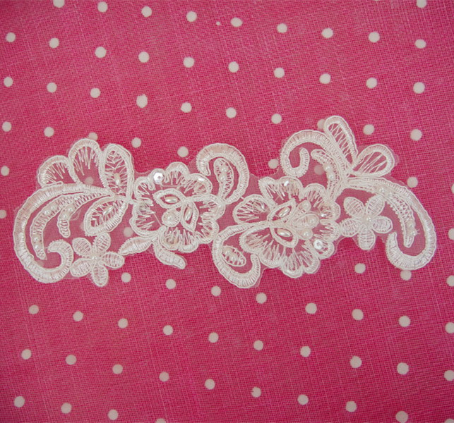 SAP1023 Lace Applique SAP1023