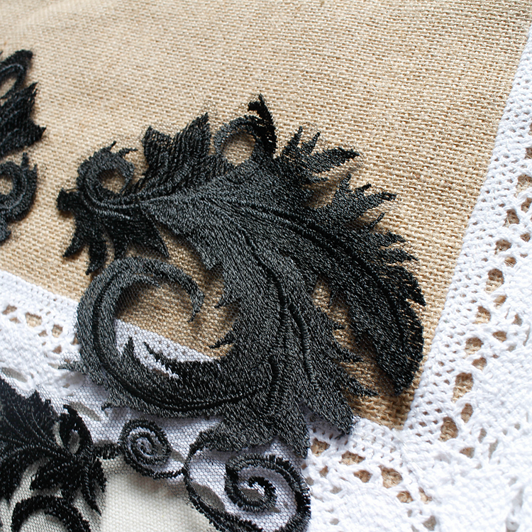 SAp1129 Lace Applique lace Motifs Embroidery Applique Trim Sewing Appliques