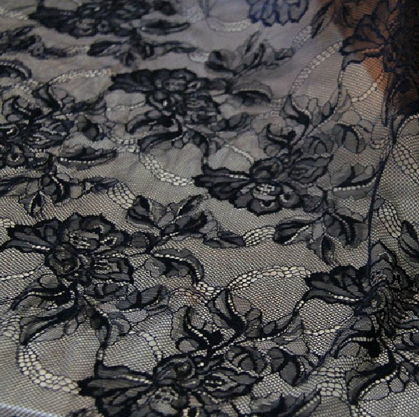SFB2017 Lotus Flower Soft Lace Mesh 55 inch Width for Dress Gown