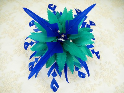 RB095 Feather Flower DIY Millinery Hat Wedding Feather Fascinators Handcraft Headress