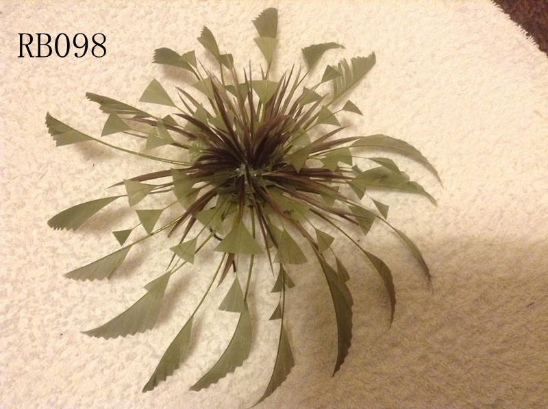 RB098 Feather Flower DIY Millinery Hat Wedding Feather Fascinators Handcraft Headress