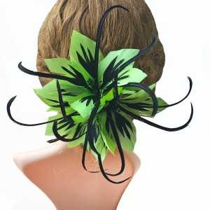 RB099 Feather Flower DIY Millinery Hat Wedding Feather Fascinators Handcraft Headress