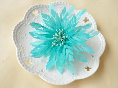 RB022 Feather Flower DIY Millinery Hat Wedding Feather Fascinators Handcraft Headress