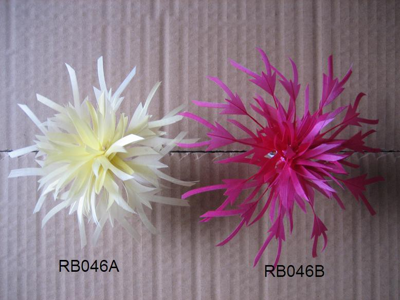 RB046 Feather Flower DIY Millinery Hat Wedding Feather Fascinators Handcraft Headress