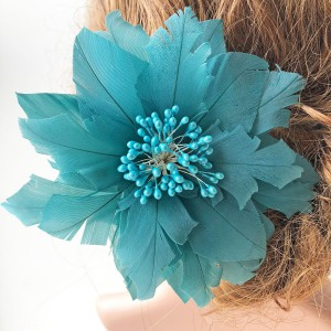 Feather Flower RB049 DIY Millinery Hat Wedding Feather Fascinators Handcraft Headress