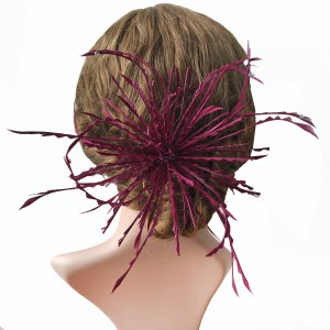 RB057 Feather Flower DIY Millinery Hat Wedding Feather Fascinators Handcraft Headress