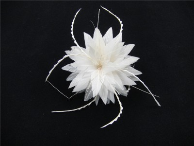 RB058 Feather Flower DIY Millinery Hat Wedding Feather Fascinators Handcraft Headress