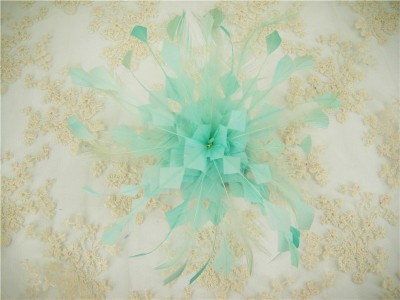 RB061 Feather Flower DIY Millinery Hat Wedding Feather Fascinators Handcraft Headress