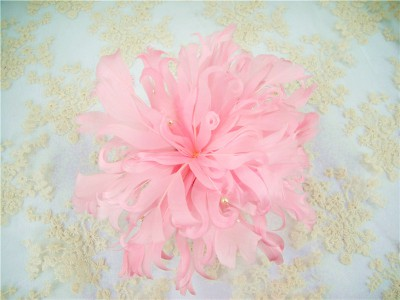 RB062 Feather Flower DIY Millinery Hat Wedding Feather Fascinators Handcraft Headress