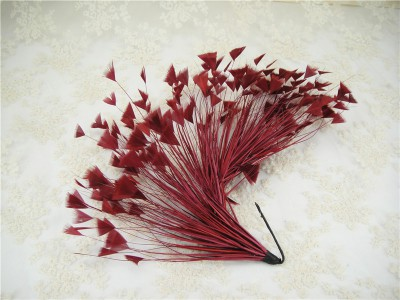 Feather Mount Feather Flower Wedding Feather Fascinators Hat DIY RM611