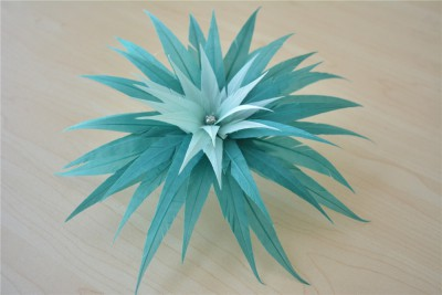 RB122 Feather Flower DIY Millinery Hat Wedding Feather Fascinators