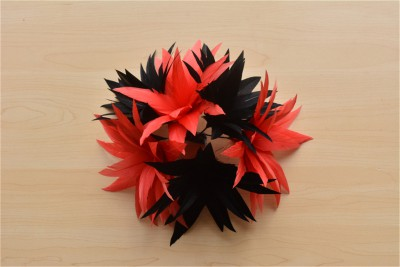 RB116 Handcraft Feather Flower Millinery Spitting Fascinators Feathers Derby Ascot Hat Making
