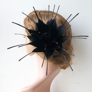 RB120 Handcraft Feather Flower Millinery Spitting Fascinators Feathers Derby Ascot Hat Making