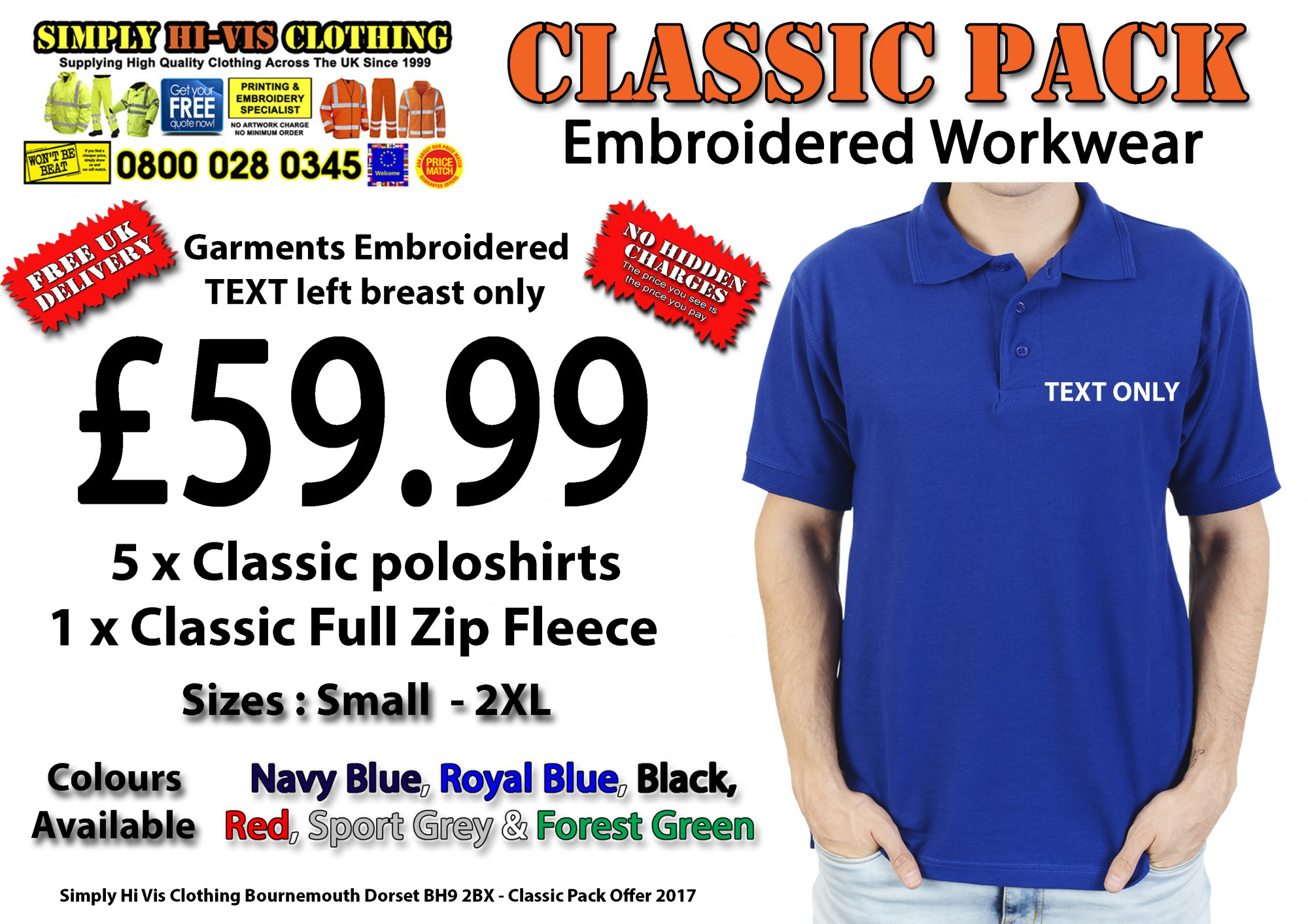 Design your own t-shirt bristol - We Have A Offer On At The Moment Classic Man Pack Workwear Embrodiered 59 99 Click To The Image Below To Buy On Line
