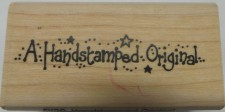A Hand Stamped Original Stamp