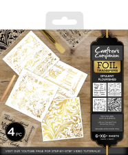 Crafters Companion Foil Transfers Opulent Flourishes