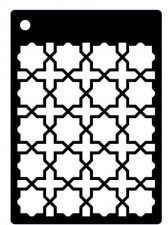 Creative Expressions Mini Stencil Ornate Trellis