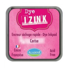 Izink Dye Based Stamp Pad Cherry 5cm X 5cm