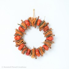 Dried pumpkin circle