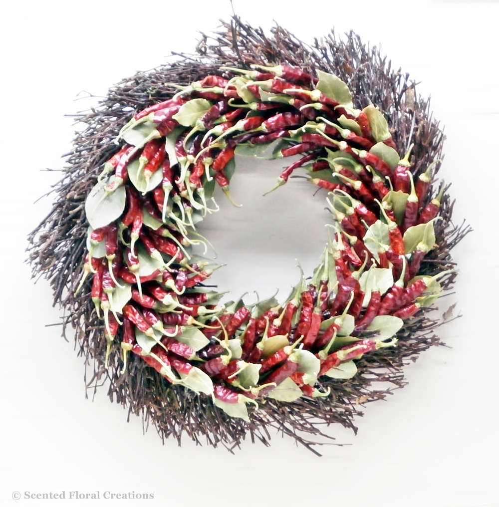Chilli & Bay wreath
